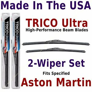 Buy American: TRICO Ultra 2-Wiper Blade Set: fits listed Aston Martin: 13-26-20