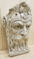 BEARDED MAN WALL CORBEL BRACKET SHELF ARCHITECTURAL ACCENT HOME DECOR