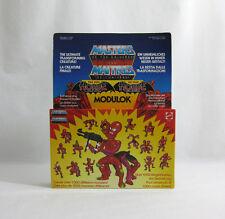NEW 1984 Vintage He-Man ✧ MODULOK ✧ Mattel MOTU Figures MISP