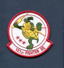 121st FS USAF F-16 FALCON DC AIR GUARD Throwback Retro Fighter Squadron Patch
