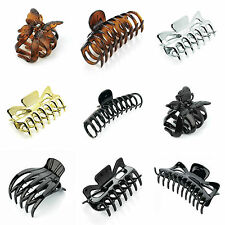 Ladies Large Hair Claw Clamps Clips Butterfly Claw Clamp Hair Accessories