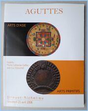 ART PRIMITIF - AFRIQUE ASIE - CATALOGUE VENTE AGUTTES PARIS 25 AVRIL 2008