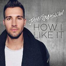 JAMES MASLOW - HOW I LIKE IT   CD NEW+
