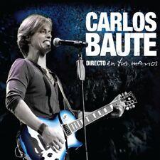 Directo En Tus Manos Cristal - Carlos Baute (2014, CD NUEVO)