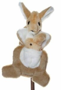 Kate Kangaroo and Joey Large Australian Native Animal Puppet
