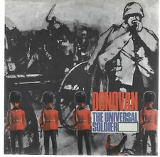 "DONOVAN THE UNIVERSAL SOLDIER / THE WAR DRAGS ON 7"" 45 GIRI"