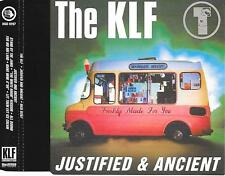 THE KLF - Justified & Ancient CDM 5TR Euro House (INDISC) 1991 BELGIUM