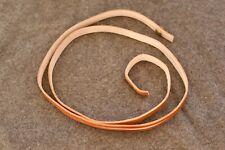 Confederate Canteen Strap Brown Leather Reproduction