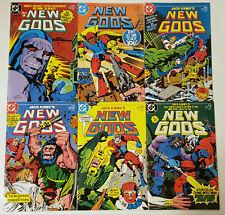 NEW GODS DC Comics 1984 mini-series set of six 1 2 3 4 5 6 LOT JACK KIRBY