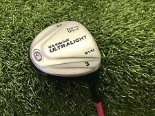 "NICE U.S. Kids Golf ULTRALIGHT WT-20 3 Fairway DRIVER 23* Right PINK 31"" USKG"