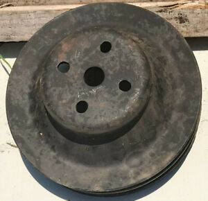 1973 1974 AMC AMX Javelin 360 401 V8 Used 2 Groove Water Pump Pulley 3216631