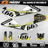 Husqvarna TE TC 250-450 2002 2003 2004 Decals kit AION MX Graphics kits