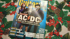 Acdc Covers Guitar One Magazine August 2003 Finch Muddy Waters Jimmy Herring
