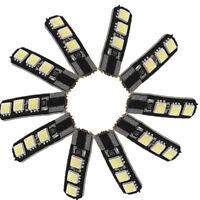 10X de Canbus T10 194 168 W5W 5050 6 LED SMD Side Blanco Coche Cua Bombilla N2F1