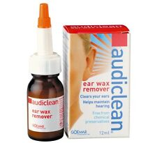 Audiclean Ear Wax Remover 12Ml Clean your ears, helps maintain hearing