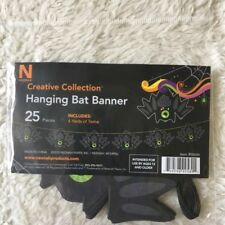 Halloween Hanging Bat Banner Home Decor New In packaging