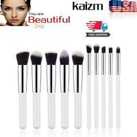10Pcs Makeup Brush Set Cosmetic Eyeshadow Contour Foundation Tool Hot 2019