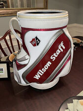 New listing Wilson Staff Tour Den Caddy (Red/Gray/White) - Great For Holding Golf Balls!