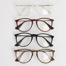 NEW Men Women Unisex Nerd Glasses Clear Lens Eyewear Retro Spectacles