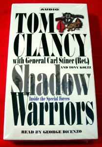 Tom Clancy/C.Stiner Shadow Warriors Inside The Special Forces 4-Tape Audio NEW