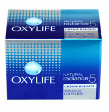 Oxylife Natural radiance 5 Creme Bleach 27gm  All Skin Type Free Shipping