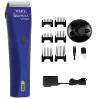 Wahl Bravura Lithium Ion Corded / Cordless Animal Pet Human Clipper with 5 in 1