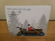 Dept 56 New England Village - In Before Dusk - Nib