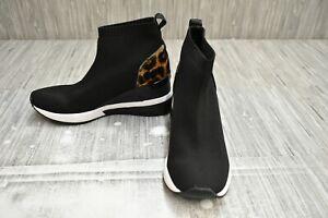 **Michael Michael Kors Skyler Wedge Comfort Sneakers - Women's Size 5, Black