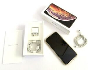 APPLE iPhone XS Max 512GB : GOLD (Unlocked) : AS NEW
