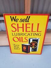 Shell Oils New Quality Porcelain Enamel Sign