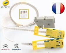 câble 7 pins + connecteurs, comodo airbag Peugeot 206, 307, 406, 807, partner...