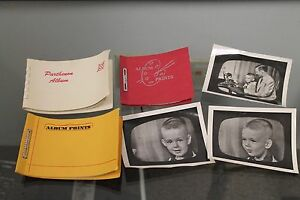 LOT OF VINTAGE 50S PHOTOGRAPHS VACATION TV STATION SMALL CHILDREN PLAYING