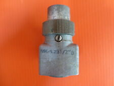 Wk-6-23 1/2' B Itt Cannon Connector For Military Radio And Other Devices