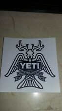 Yeti Decals Sticker
