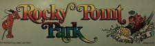 Authentic Rocky Point Park bumper sticker