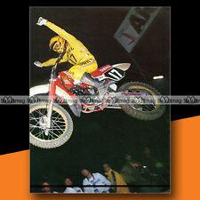 ★ JEAN-PAUL MINGUELS (YAMAHA) ★ 1984 Mini-Poster Pilote Moto CROSS Photo #MP185