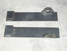 Claas Sanderson handler weld on loader brackets two piece set