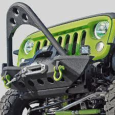 Jeep Wrangler JK & Unlimited Smittybilt SRC Stinger Bumper Winch Mount 76524 07+