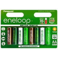 8 x Panasonic Eneloop Botanic AA batteries 1900mAh Ni-MH rechargeable BK-3MCCE