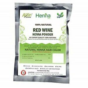 Allin Henna Red Wine Henna Powder 60 gm