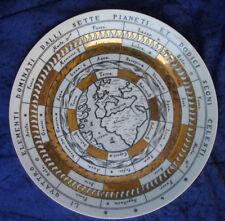 Rare Vintage 50s Piero Fornasetti Plate. Astronomici no 12.