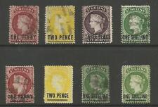 ST HELENA 1871-93 MINT AND USED SELECTION OF 8 ,SEE SCANS