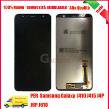 DISPLAY LCD TOUCH SCREEN PER SAMSUNG GALAXY J4+ PLUS 2018 SM-J415FN VETRO NERO