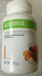 Herbalife Instant Herbal Beverage Peach 102 grams Free Post
