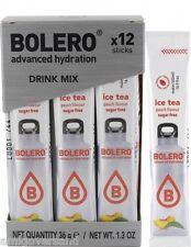 Bolero Sticks - ICETEA Peach - 12 Sticks für 12 x 500 mL Getränk