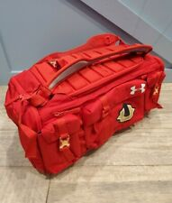 Under Armour Range Cordura Undeniable 53L Duffel Bag Travel Day Rock RED RARE