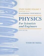 Physics for Scientists and Engineers Study Guide, Vol. 3, Tipler, Paul A., Mosca