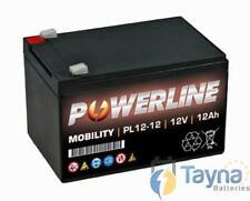 Powerline Powered scootmobiel Accu AGM 12V 12Ah ES12 12