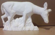 Deer Doe standing 6.75 inches Long Ready to paint ceramic bisque Figurine