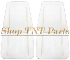 1966-1970 GM Impala Nova Chevelle Seat Foam Pair Buns Cushions Bucket Cutlass SS